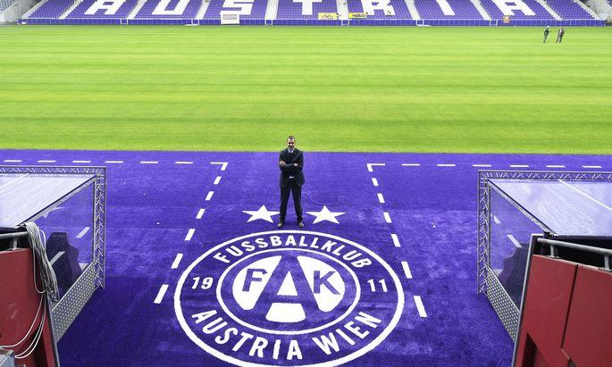 Markus Kraetschmer und die Generali-Arena. Der Umbau war mit 42 Mio. Euro budgetiert, soll aber mehr gekostet haben.