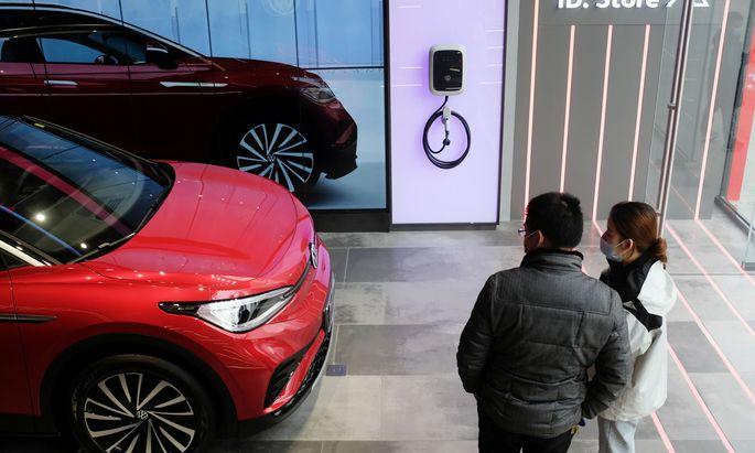 Heuer geht der ID.4, der zweite rein als E-Auto gebaute PKW von VW nach dem ID.3., in den Verkauf.