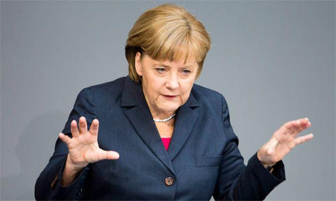 Merkel Deutschlands Kraefte nicht