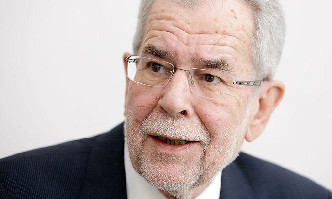 INTERVIEW MIT PRAeSIDENTSCHAFTSKANDIDAT ALEXANDER VAN DER BELLEN