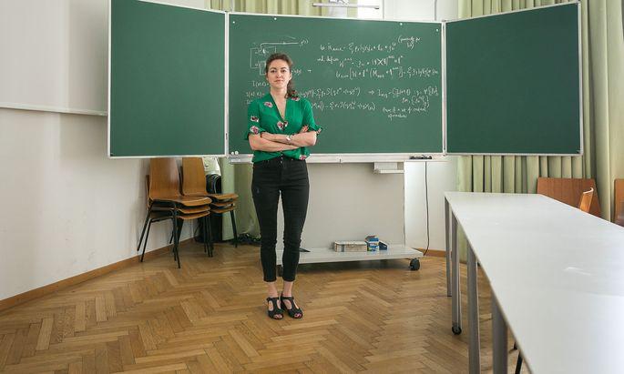 Teilchen, die sich in unendlich vielen Zuständen befinden und deren Ereignisse keine Reihenfolge haben, sind das Spezialgebiet von Yelena Guryanova.