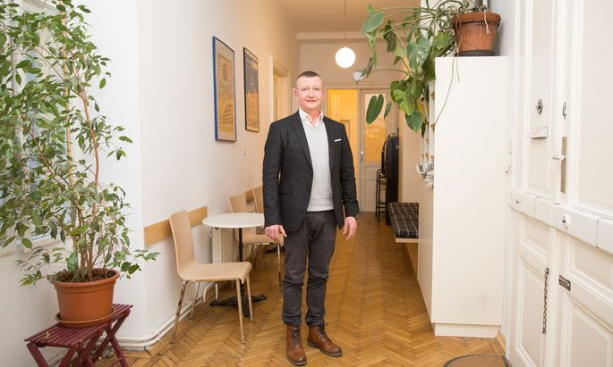 Psychotherapeut und Coach Alexander Haydn arbeitet in der Wiener Männerberatung mit Gewalttätern, die etwa vom Gericht zum Anti-Gewalt-Training geschickt werden. Und hat bei diesen mit jeder Menge Widerstand zu tun.
