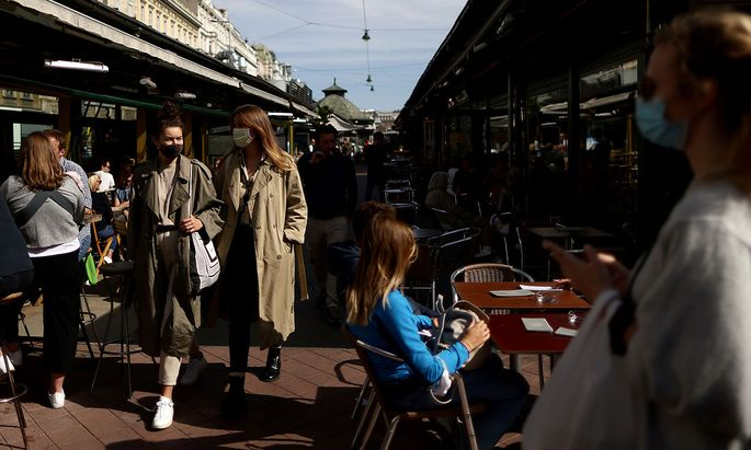 Archivbild: Der Wiener Naschmarkt im September.
