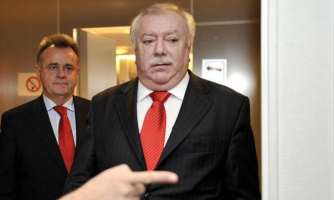 Burgenlands Landeschef Niessl und Wiens Landeshauptmann Häupl