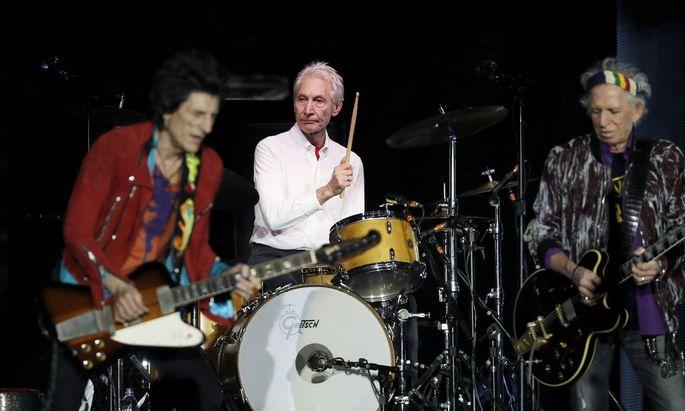 Charlie Watts - seit 1963 Schlagzeuger der Rolling Stones - ist tot