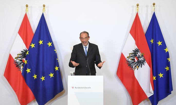 Es zähle nicht zu seinen Talenten, politische Fäden zu ziehen, sagte Heinz Faßmann einst selbst über sich.