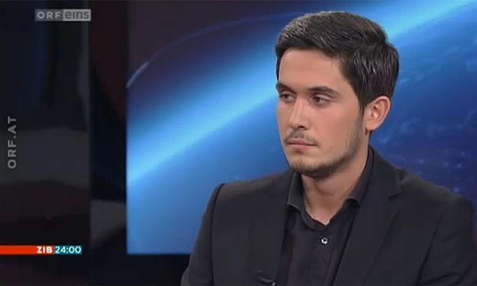 Abdurrahman Karayazili am 25. Juli im Studio der Zib24 des ORF.