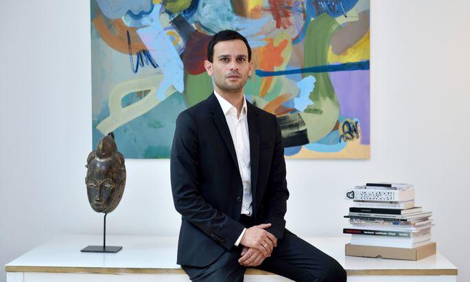 Aram Haus kommt eigentlich aus dem Kunstbereich – und will dessen internationale Vernetzung auf den Buchmarkt umlegen.