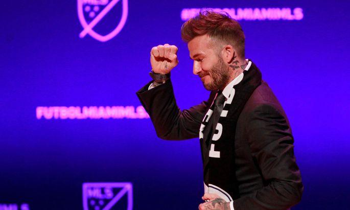 David Beckham kehrt auf die große Bühne des US-Fußballs zurück. Diesmal nicht als Spieler, sondern als Klubbesitzer in Miami.