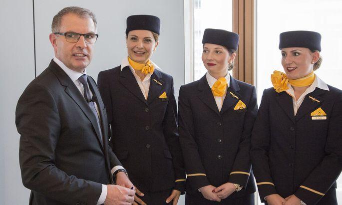 Lufthansa-Boss Carsten Spohr hat mit dem Airline-Konzern noch einiges vor. Jetzt wird einmal Konkurrent Air Berlin integriert.