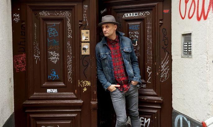 """""""Musik wird niemanden retten, das weiß ich mittlerweile"""": Sänger Drew Sarich."""