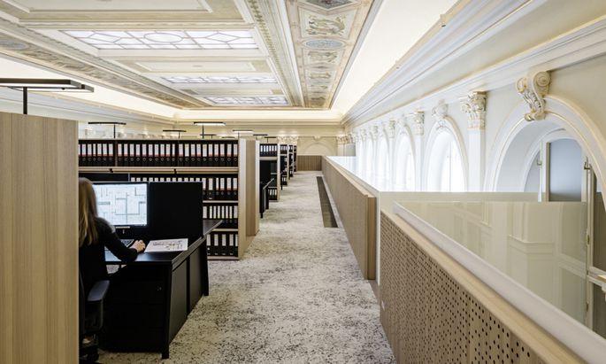 Bei entsprechender Investitionsbereitschaft lassen sich auch im Altbau moderne Büros realisieren. Im Bild Telegraf 7.