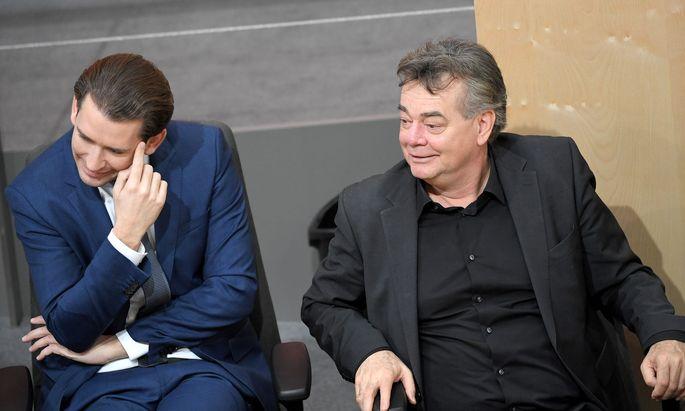 Die Konstellation zwischen Sebastian Kurz und Werner Kogler könnte von einem Drehbuchautor kaum besser konzipiert worden sein.
