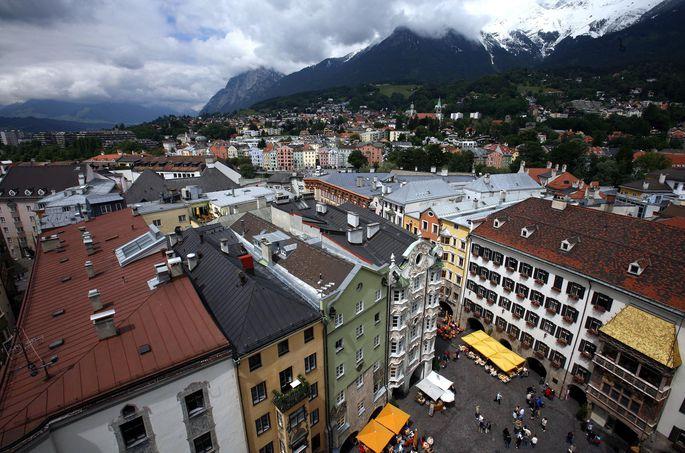 Spitzenreiter in Sachen Mietpreis ist Innsbruck mit 17,50 Euro pro Quadratmeter.