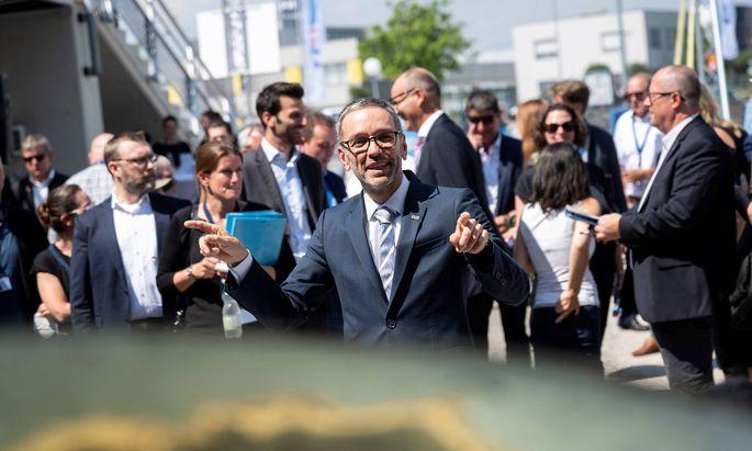 Der neue FPÖ-Chef, Herbert Kickl