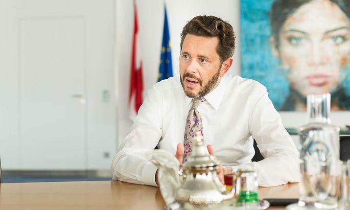 WKO-Chef Mahrer Norbert Rief Akos Burg WKO Wiedner Hauptstraße Wien