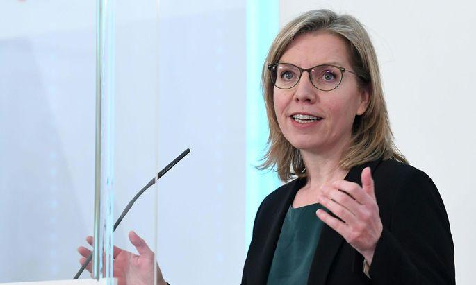 Klimaschutzministerin Leonore Gewessler