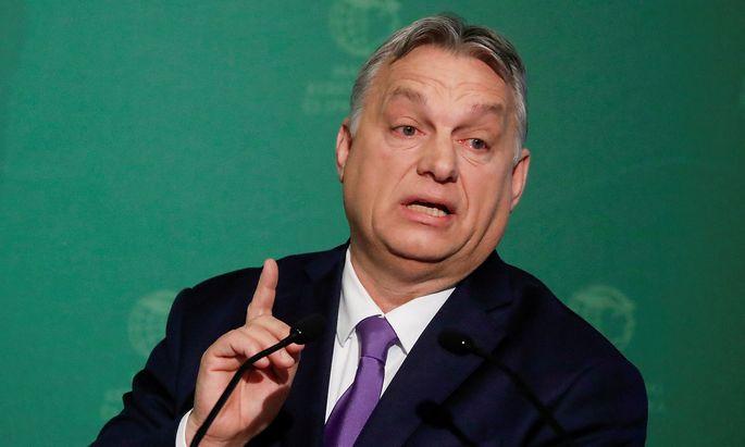 Ungarns Premier Victor Orban