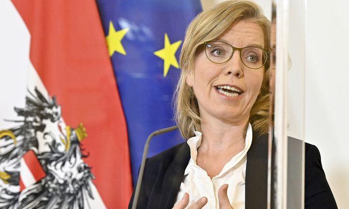 Umweltministerin Leonore Gewessler