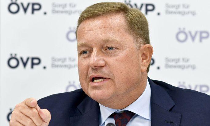 ÖVP-Generalsekretär Werner Amon