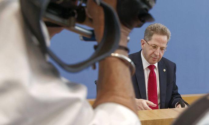 Archivbild: Hans-Georg Maaßen im Juli in der Bundespressekonferenz