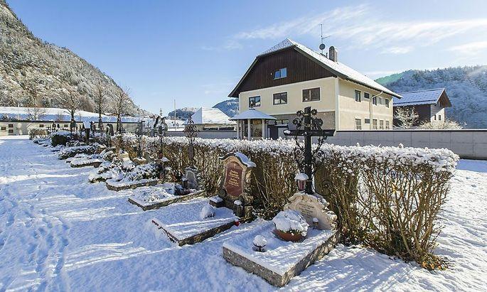 Das Flüchtlingsquartier im Pfarrhof der Gemeinde Fuschl