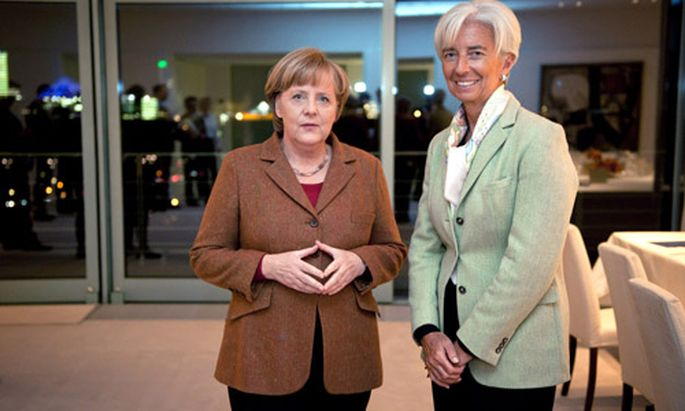 Merkel Lagarde Titaninnen Weltwirtschaft