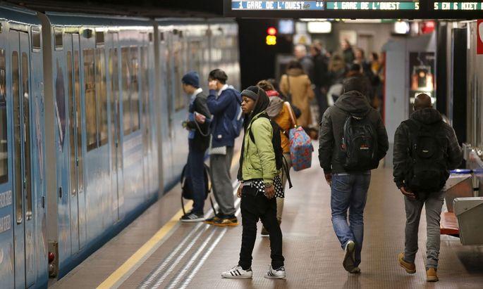 """""""Bésame mucho"""" ist die inoffizielle Hymne der Brüsseler U-Bahn."""