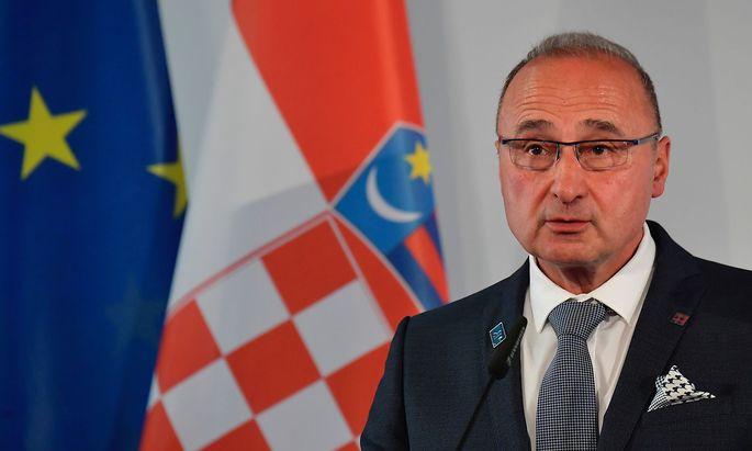 Kroatiens Außenminister Gordan Grlic Radman auf einem Archivbild.