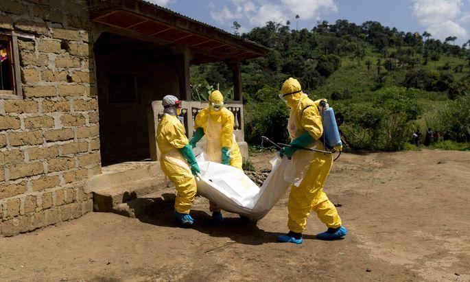 In Westafrika starben zwischen 2013 und 2016 rund 11.000 Menschen am Ebola-Virus.