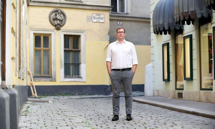 Von der Ölbranche (zurück) in die Parteipolitik: Johannes Vetter, Kampagnenmanager der SPÖ. Sein Vertrag endet mit 15. Oktober. Was er danach tun werde, wisse er noch nicht.