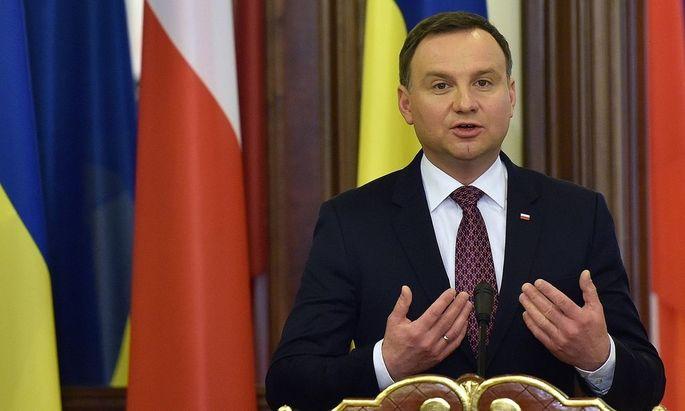 UKRAINE-POLAND-DIPLOMACY