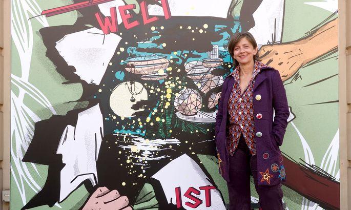 Corinne Eckenstein, die künstlerische Leiterin des Dschungel .