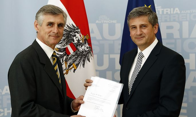 Michael Linhart uebernimmt Amt des Generalsekretaers im Auszenministerium