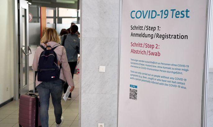 87 Neuinfektionen in Niederösterreich gemeldet, im Bild: Flughafen Schwechat