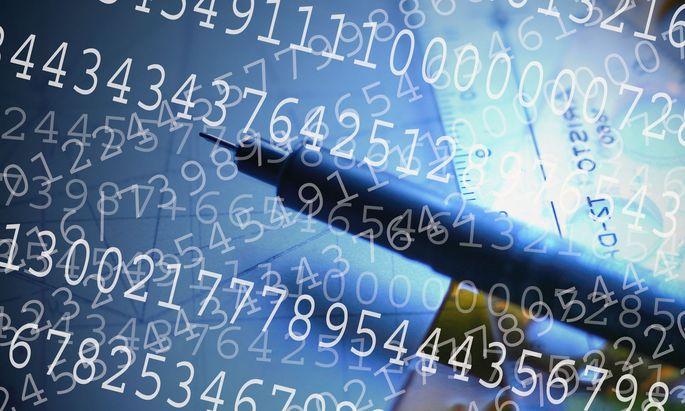 Symbolbild Zahlen Ziffern