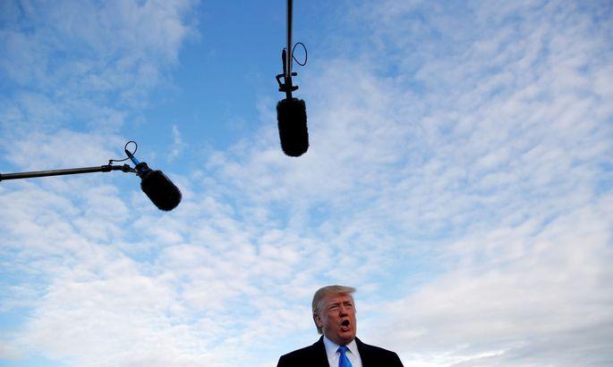 Donald Trump droht China