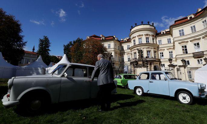 In Tschechien ist der Ostblock-Klassiker Trabant heute nur noch aus Nostalgiegründen zu sehen.