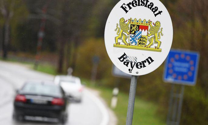 Grenzverkehr zwischen Bayern und Oesterreich