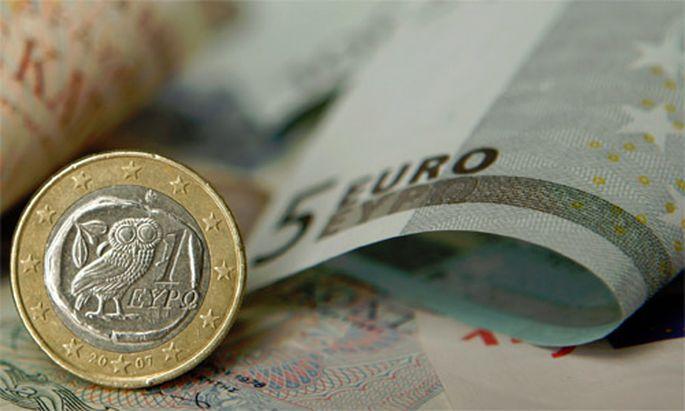 Barreserven fast null Griechenland