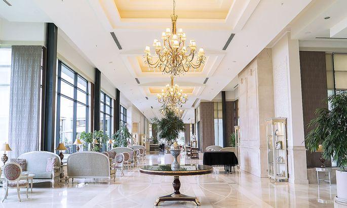 In der Luxushotellerie muss alles top sein. Beschwerden kommen, wenn, eher von Schnäppchenjägern.