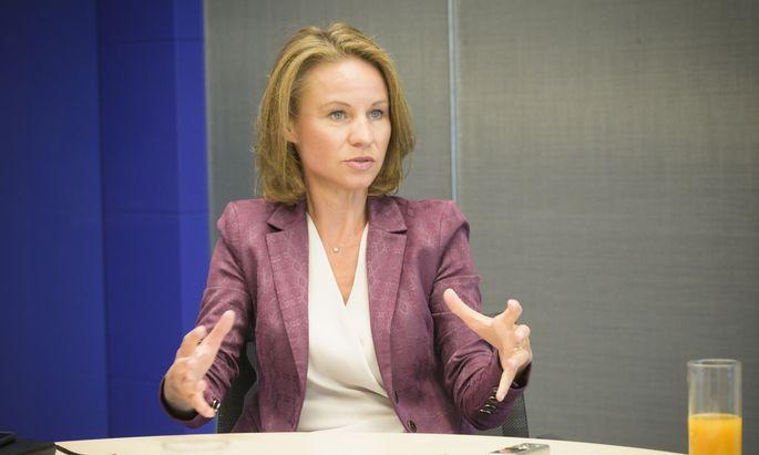 """""""Computer machen nur, was der Mensch zulässt"""", sagt Patricia Neumann, Generaldirektorin von IBM Österreich."""
