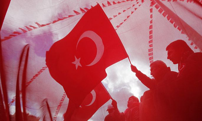 Kundgebung türkischer Nationalisten in Istanbul