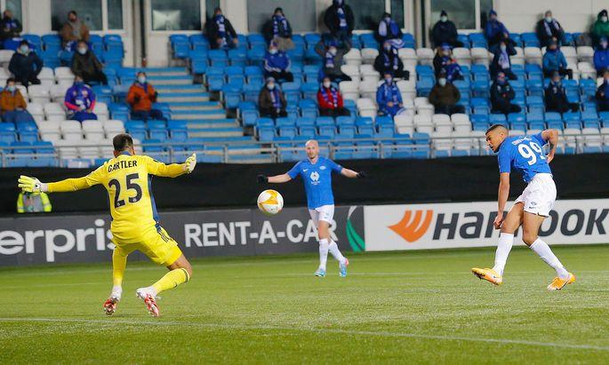 Paul Gartler gegen Molde