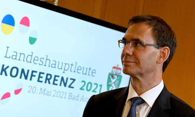 Vorarlbergs Landeshauptmann, Markus Wallner (ÖVP)