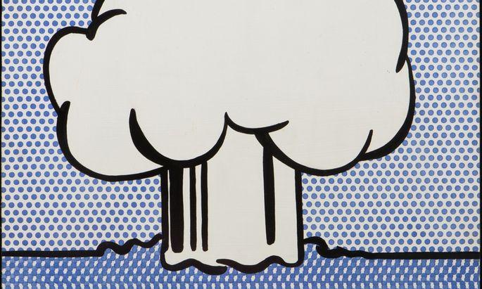 """So dekorativ kann die Katastrophe sein: Roy Liechtenstein: """"Atomic Burst"""", 1965."""