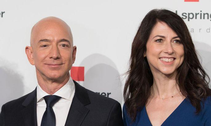 Jeff und MacKenzie Bezos helfen Obdachlosen