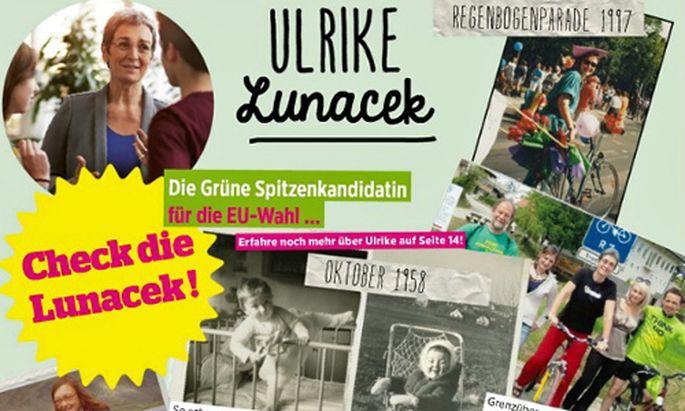 Eva-Magazin der Grünen: ''Check die Lunacek''