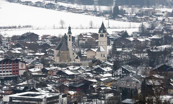 Stadtansicht Kitzbühel