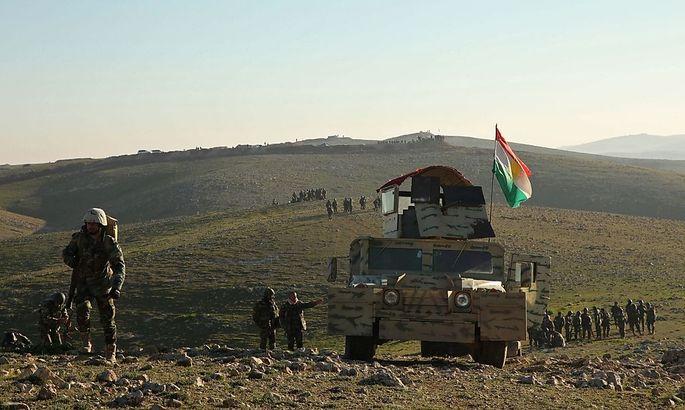 Peshmerga-Einheiten rücken bei Mosul vor